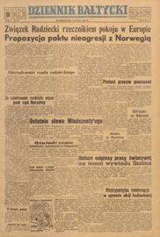 Dziennik Bałtycki, 1949, nr 37
