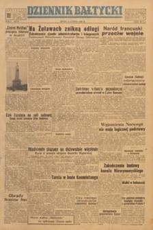 Dziennik Bałtycki, 1949, nr 39