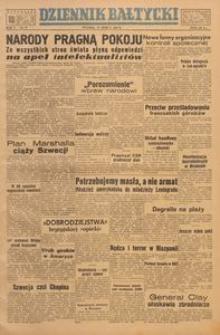 Dziennik Bałtycki, 1949, nr 73