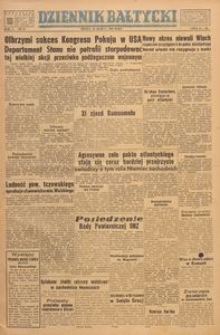 Dziennik Bałtycki, 1949, nr 88