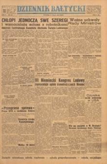 Dziennik Bałtycki, 1949, nr 148
