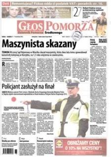 Głos Pomorza, 2012, wrzesień, nr 210