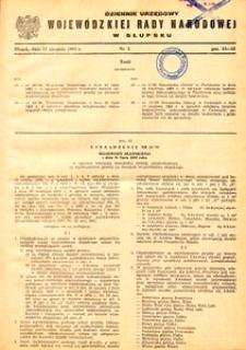 Dziennik Urzędowy Wojewódzkiej Rady Narodowej w Słupsku. Nr 5/1983
