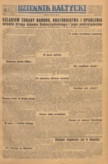 Dziennik Bałtycki, 1949, nr 186