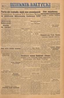 Dziennik Bałtycki, 1949, nr 189