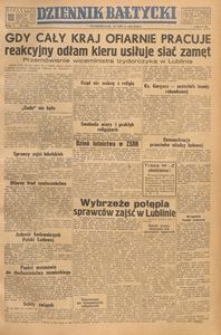 Dziennik Bałtycki, 1949, nr 195