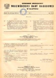 Dziennik Urzędowy Wojewódzkiej Rady Narodowej w Słupsku. Nr 3/1984
