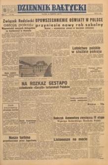 Dziennik Bałtycki, 1949, nr 234