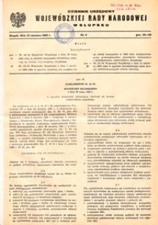 Dziennik Urzędowy Wojewódzkiej Rady Narodowej w Słupsku. Nr 6/1984