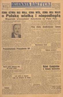 Dziennik Bałtycki, 1949, nr 251
