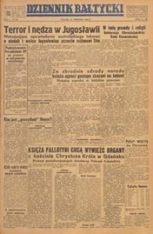 Dziennik Bałtycki, 1949, nr 255