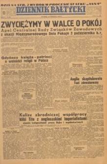 Dziennik Bałtycki, 1949, nr 259