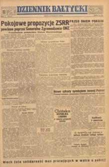 Dziennik Bałtycki, 1949, nr 267