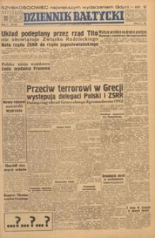 Dziennik Bałtycki, 1949, nr 269