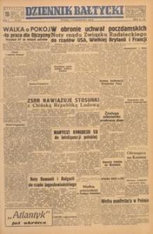 Dziennik Bałtycki, 1949, nr 273