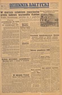 Dziennik Bałtycki, 1949, nr 285