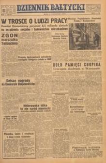 Dziennik Bałtycki, 1949, nr 288