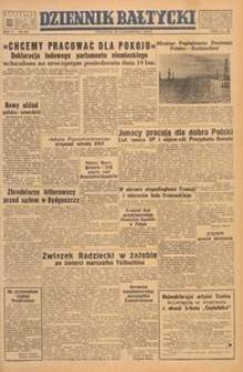 Dziennik Bałtycki, 1949, nr 289