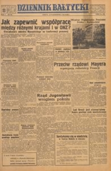 Dziennik Bałtycki, 1949, nr 291