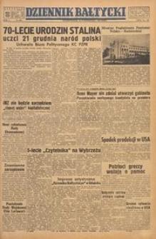 Dziennik Bałtycki, 1949, nr 293