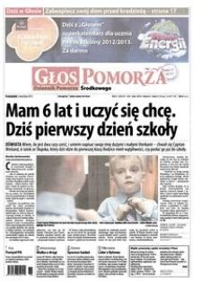 Głos Pomorza, 2012, wrzesień, nr 205
