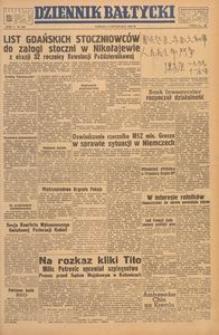 Dziennik Bałtycki, 1949, nr 305