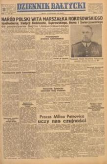 Dziennik Bałtycki, 1949, nr 309