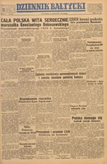 Dziennik Bałtycki, 1949, nr 310