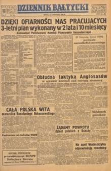 Dziennik Bałtycki, 1949, nr 316
