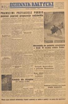 Dziennik Bałtycki, 1949, nr 318