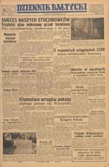 Dziennik Bałtycki, 1949, nr 319