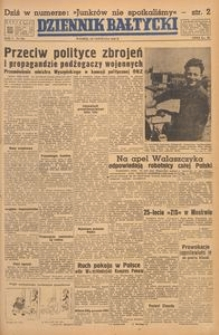 Dziennik Bałtycki, 1949, nr 322