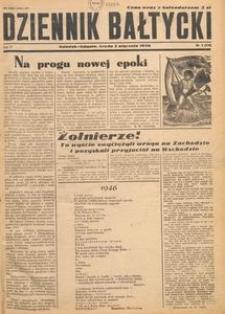 Dziennik Bałtycki, 1946, nr 1