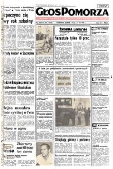 Głos Pomorza, 1984, sierpień, nr 208