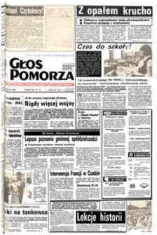 Głos Pomorza, 1987, wrzesień, nr 203