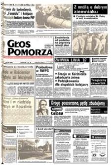 Głos Pomorza, 1987, wrzesień, nr 206