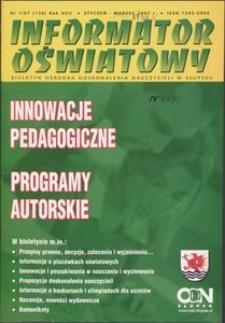 Informator Oświatowy, 2007, nr 1