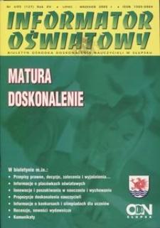 Informator Oświatowy, 2005, nr 4