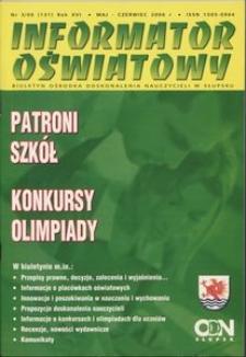 Informator Oświatowy, 2006, nr 3