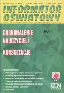 Informator Oświatowy, 2008, nr 1