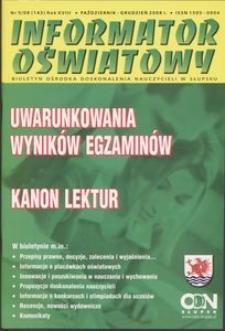 Informator Oświatowy, 2008, nr 5