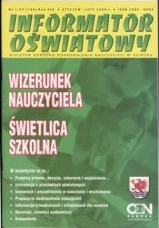 Informator Oświatowy, 2009, nr 1