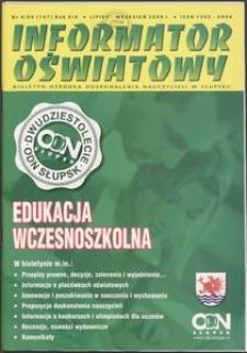 Informator Oświatowy, 2009, nr 4