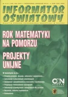 Informator Oświatowy, 2014, nr 4