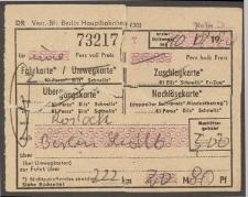 Bilet kolejowy