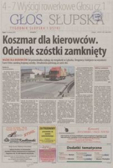 Głos Słupska : tygodnik Słupska i Ustki, 2013, nr 137