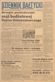 Dziennik Bałtycki 1947, nr 104