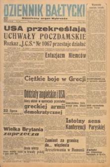 Dziennik Bałtycki 1947, nr 195