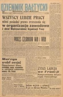 Dziennik Bałtycki 1947, nr 203