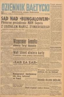 Dziennik Bałtycki 1947, nr 208